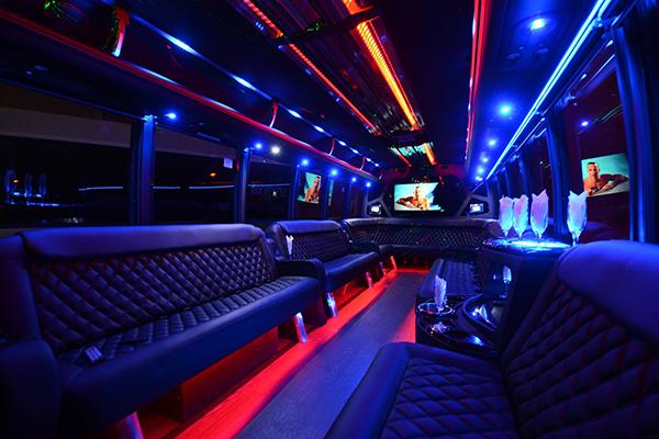 40 passenger party bus rental Seattle